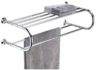 Whitmor 6060-3571-BB Chrome Shelf & Towel Rack