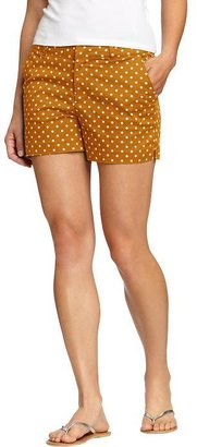 """Old Navy Women's Printed Twill Shorts (3 1/2"""")"""