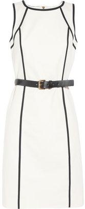 MICHAEL Michael Kors Stretch-cotton poplin dress