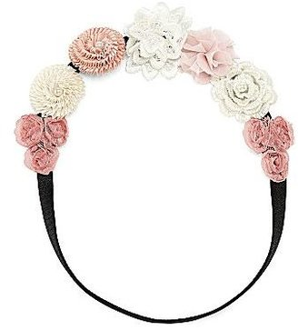 JCPenney Flower-Printed Elastic Headband