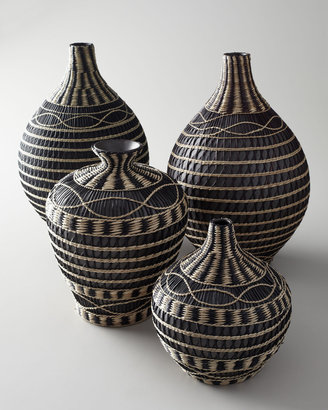 """Seagrass"" Vases"