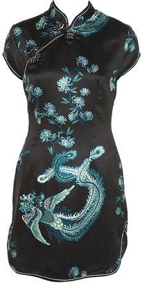 Kate Moss Oriental Split Side Dress