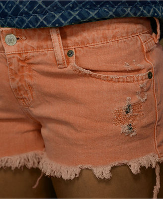 Denim & Supply Ralph Lauren Shorts, Colored Denim Cutoffs