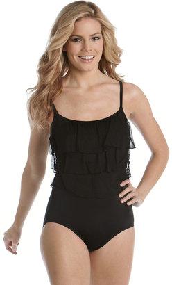 Longitude Ruffled One-Piece Swimsuit