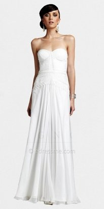 Strapless Sweetheart Ivory Mermaid Gowns from The White Collection Mignon