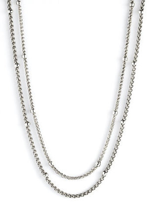 Lauren Ralph Lauren Lauren by Ralph Lauren '5th Avenue' Double Row Long Necklace