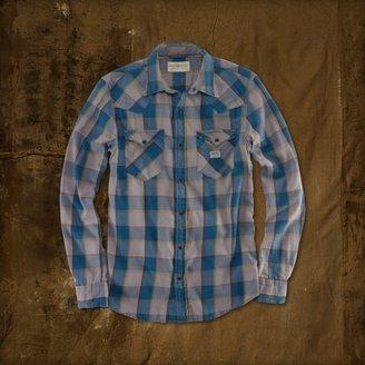 Denim & Supply Ralph Lauren Taylor Plaid Cowboy Shirt