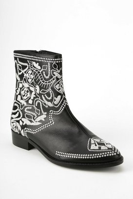 Plomo Nuria Embroidered Ankle Boot