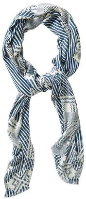 Marc by Marc Jacobs Lame Matelesse Print Scarf