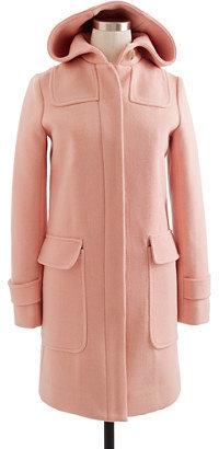 J.Crew Stadium-cloth duffle coat