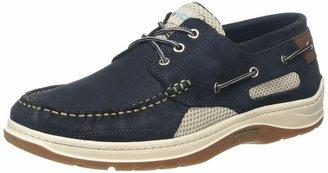 Quayside Sydney Men's Deck Shoe (Navy 7)