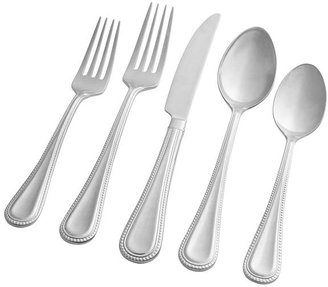 Pottery Barn Adele Beaded Flatware