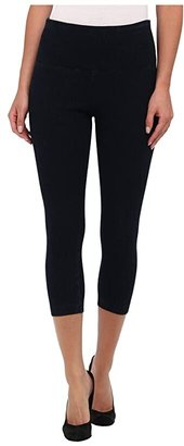 Lysse Perfect Denim Capri 6173C (Black) Women's Capri