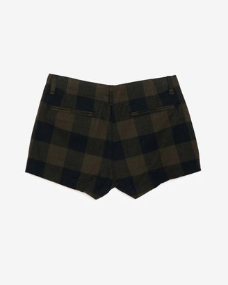 Rag and Bone Rag & Bone Patterned Plaid Flannel Shorts