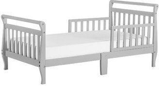 Dream On Me Toddler Sleigh Bed with Safety Rails Bed Frame Color: Cool Gray