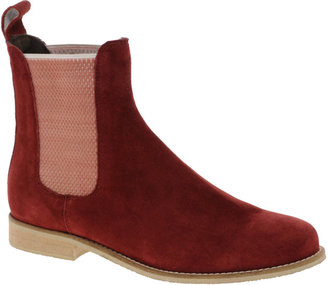 Asos ALIBI Suede Chelsea Ankle Boots