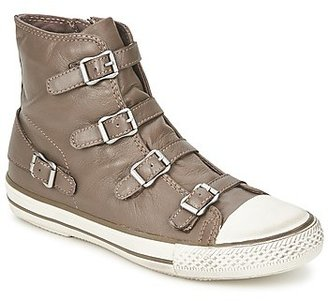Ash VIRGIN women's Shoes (High-top Trainers) in Beige