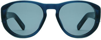 Dries Van Noten x Linda Farrow Semi-Round Sunglasses