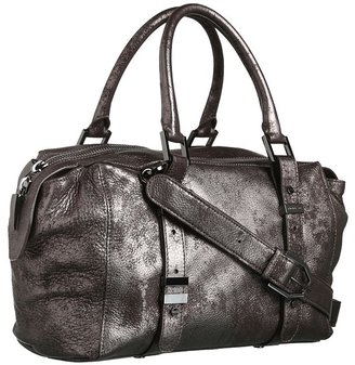 Rachel Zoe Charlie Small Tote (Brushed Pewter Metallic) - Bags and Luggage