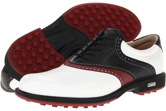 Ecco Tour Hybrid GTX (White/Black/Port/Brick) - Footwear
