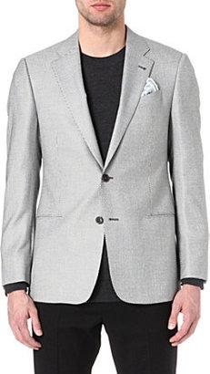 Armani Giorgio zig-zag jersey blazer
