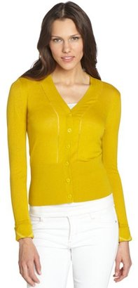 Burberry dandelion cashmere-cotton cropped cardigan