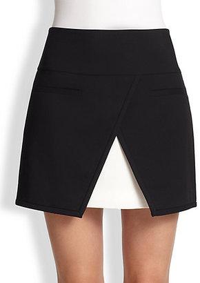 Tibi City Stretch Mini Skirt