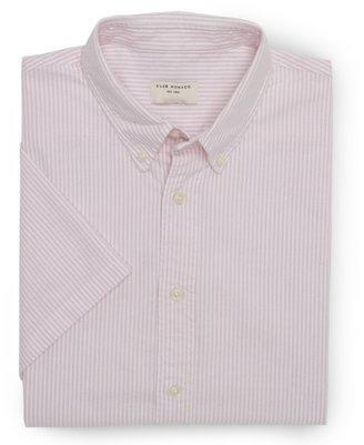 Club Monaco Short Sleeve End-On-End Shirt