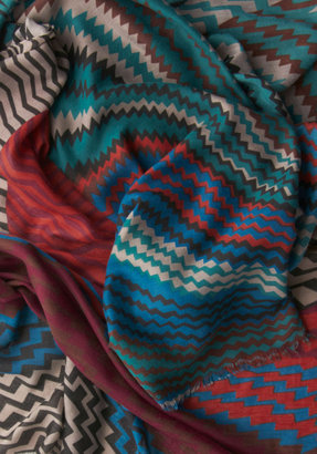Color Coordinated Scarf