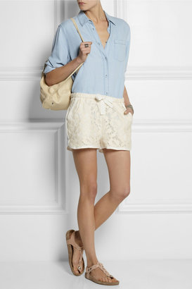 Sea Pizval cotton-lace shorts