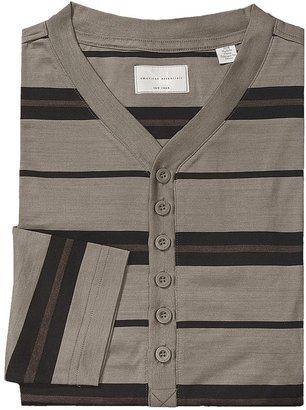 American Essentials Silk-Cotton Nightshirt - Long Sleeve (For Men)