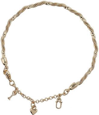 Topshop Twisted Charm Bracelet