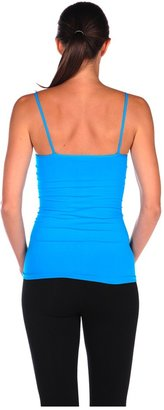 Luxe Junkie Basic Cami with Padded Removable Shelf Bra