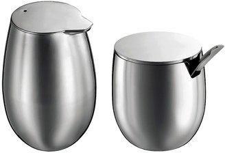 Bodum Columbia Sugar and Creamer Set - Stainless Steel