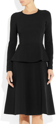 Roland Mouret Barnicles tiered stretch-crepe dress