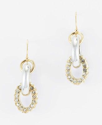 Ann Taylor Modern Classic Pave Earrings