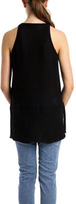 A.L.C. Lizzy Tunic in Black