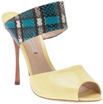 Nicholas Kirkwood Tribal color heel