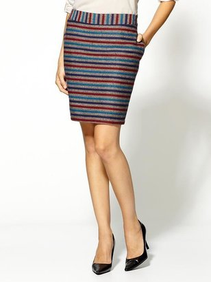 Tulle Mid-Thigh Pencil Skirt