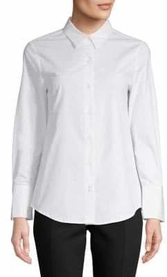 Isaac Mizrahi IMNYC Buttton-Down Collard Shirt