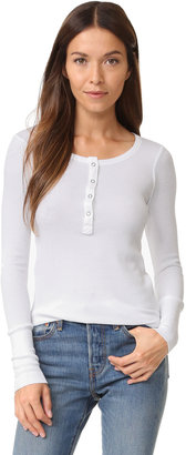 Splendid Thermal Henley $84 thestylecure.com