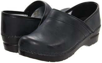 Sanita Professional PU (Black) Women's Clog Shoes