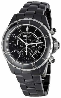 Chanel J12 Chronograph Black Ceramic Unisex Watch