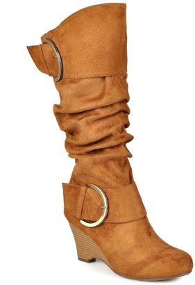 Journee Collection Irene Women's Wedge Boots