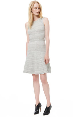 Rebecca Taylor Sleeveless Cable Knit Dress