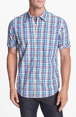 James Campbell Short Sleeve Sport Shirt
