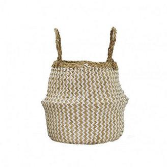 Zig-Zag Belly Basket