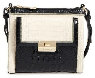 Brahmin 'Mimosa' Crossbody Bag - Ivory $235 thestylecure.com