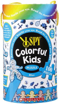 Briarpatch I Spy Colorful Kids Puzzle (100 pc) - Blue