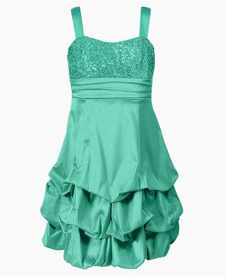 Ruby Rox Girls Dress, Girls Sequin Pick-Up Dress